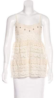 Vivienne Tam Sleeveless Lace Top w/ Tags