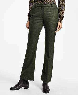 Brooks Brothers Petite Wool Twill Trousers
