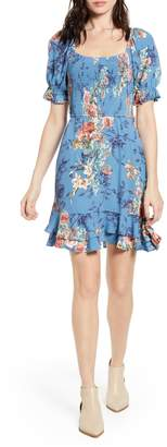 Band of Gypsies Dreams Floral Minidress
