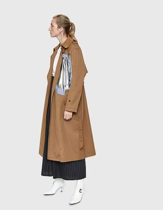 Maison Margiela Layered Cutout Trench Coat