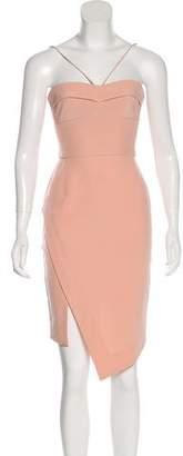 Nicholas Strapless Asymmetrical Dress