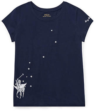 Ralph Lauren Embroidered Graphic T-Shirt