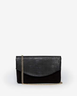 Express Chain Strap Fold Over Shoulder Bag