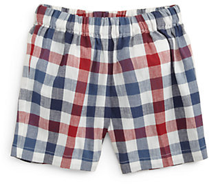 Oscar de la Renta Infant's Checked Shorts