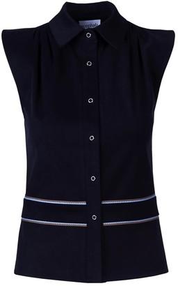 Acephala Vest Top black