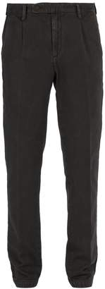 Massimo Alba Cotton and cashmere-blend trousers