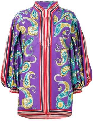 Philosophy di Lorenzo Serafini paisley kaftan dress