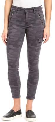Mavi Jeans Juliette Camo Skinny Cargo Pants