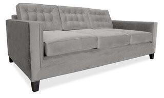 Everly Quinn Gause Plush Deep Sofa Quinn