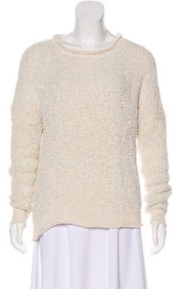 By Malene Birger Linen-Blend Long Sleeve Sweater