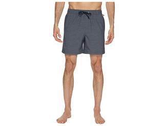 Original Penguin Heathered Swim Trunk Men's Swimwear