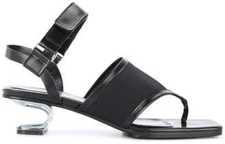Kas Nicole Saldaña sandals