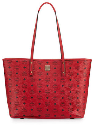 MCM Anya Medium Top-Zip Shopper Bag $690 thestylecure.com