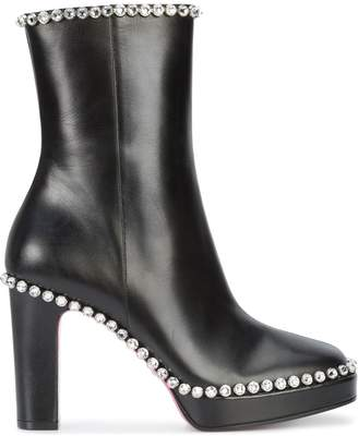 Gucci gemstone embellished high ankle boots