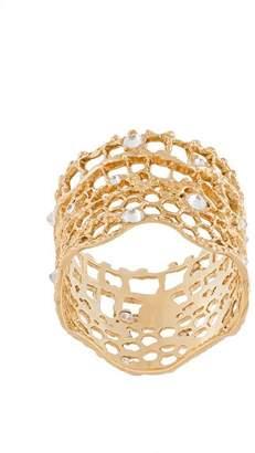 Aurelie Bidermann 'Vintage Lace' diamond ring