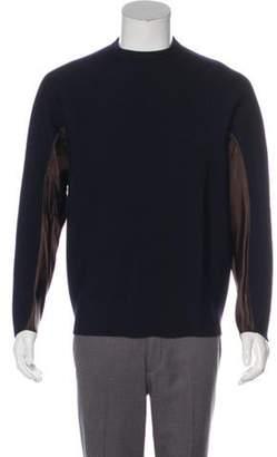 Kolor Wool Knit Sweater navy Wool Knit Sweater