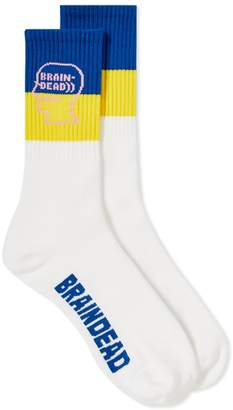 Brain Dead Logo Head Sock