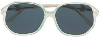 Saint Laurent Pre-Owned 1970's tinted sunglasses