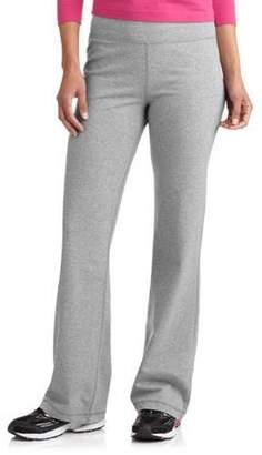 Danskin Women's Dri-More Core Bootcut Yoga Pants available in Regular and Petite