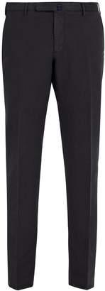 Incotex Slim-fit cotton-blend chino trousers