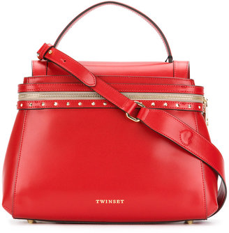 Twin-Set stud detail tote $328.02 thestylecure.com