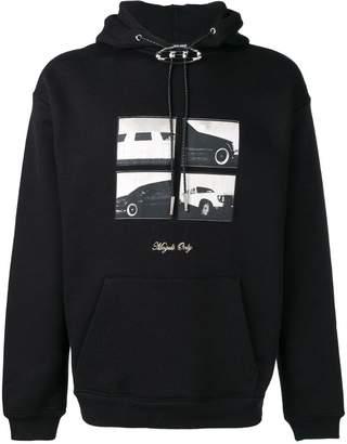 Alexander Wang printed hoodie