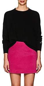 "Lisa Perry Women's ""Feminist"" Cashmere Sweater-Black"