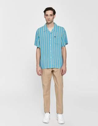 Obey Market Stripe Button Up Shirt