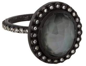 Armenta Diamond Midnight Cocktail Ring