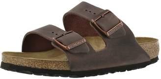 Birkenstock Women's Arizona 2-Strap Cork Footbed Sandal Brown 40 M EU
