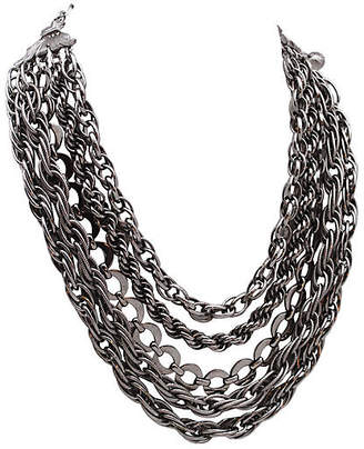 One Kings Lane Vintage Multi-Strand Rope & Link Chain Necklace - Thanks for the Memories