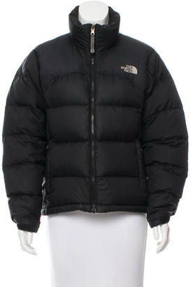 The North Face Short Puffer Coat $130 thestylecure.com