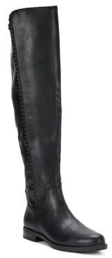 Charlotte Knee-High Leather Boots $139 thestylecure.com