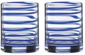 Kate Spade Charlotte Street Double Old Fashioned Glasses Set of 2