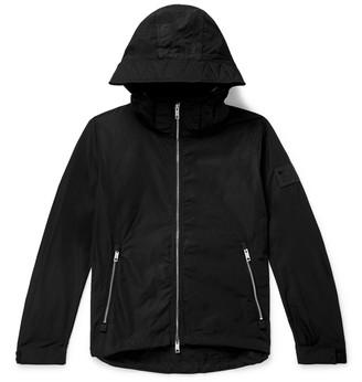 Burberry Loqo-Appliquéd Shell Hooded Jacket