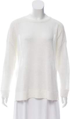 Brunello Cucinelli Cropped Sequined Sweater