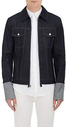 Helmut Lang RE-EDITION Men's Denim Zip-Front Shirt Jacket