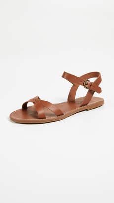 Madewell The Boardwalk Crisscross Sandals