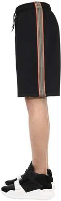 Burberry Cotton Blend Sweat Shorts