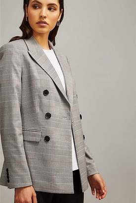 Witchery Check Blazer