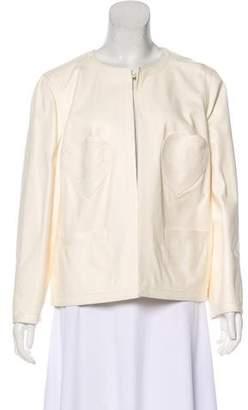Chanel Lambskin Appliqué Jacket w/ Tags