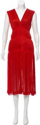 Altuzarra Pleated Midi Dress w/ Tags