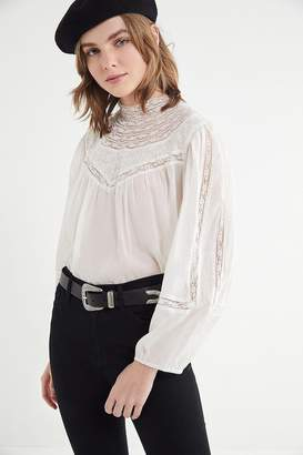 Urban Outfitters Maggie Mock-Neck Top