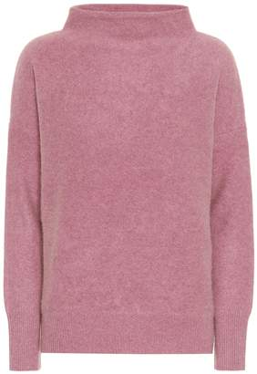 Vince Funnel-neck cashmere sweater