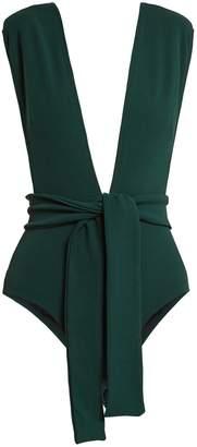 HAIGHT Tie-waist swimsuit