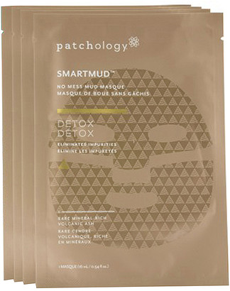Patchology SmartMud No Mess Mud Masque 4 Pack.