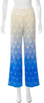 Jonathan Saunders Mid-Rise Wide-Leg Pants