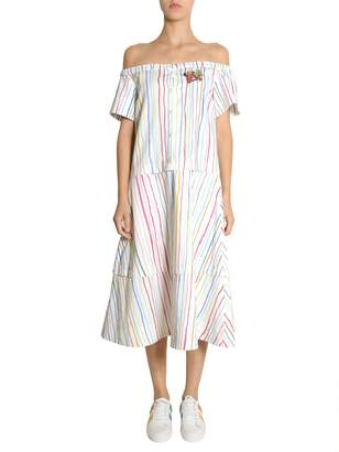 Mira Mikati Off-shoulder Dress