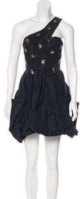 BCBGMAXAZRIA Embellished Cocktail Dress