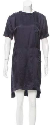 Marni Satin Knee-Length Dress